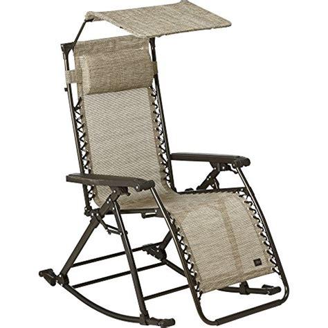 Bliss Hammocks Zero Gravity Chair bliss hammocks zero gravity rocker and recliner sand
