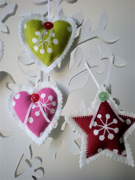 beautiful felt christmas decorations ideas decoration