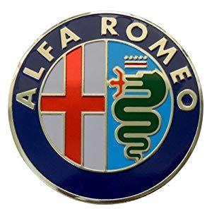 Amazoncom Alfa Romeo Large Thin Embossed Aluminum Emblem