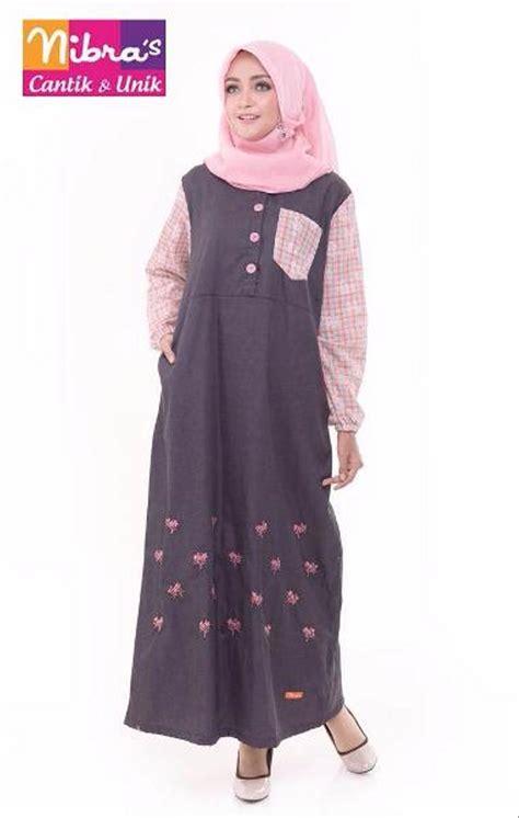 Harga Gamis Merk Nibras jual trendy busana gamis terbaru murah nibras nb 134 merah