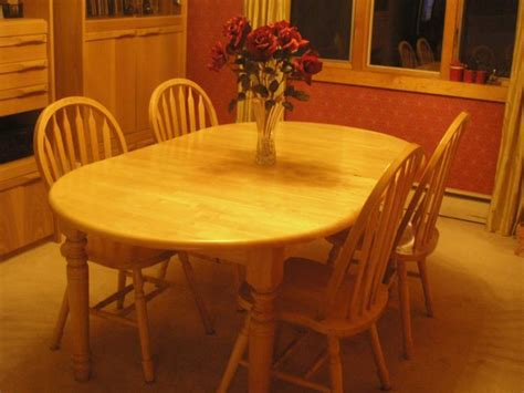 Butcher Block Kitchen Table And Chairs   Marceladick.com
