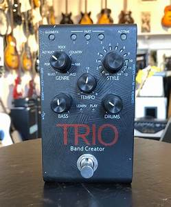 Digitech Trio Band Creator Bass And Drums Guitar Effect