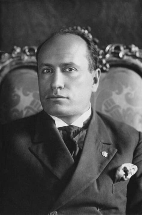 Benito Mussolini Was the Fascist Dictator of Italy