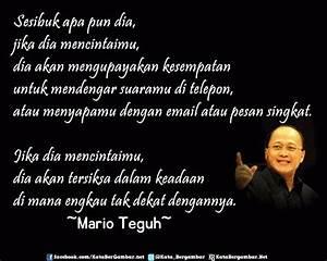 Gambar Kata Bijak Cinta Mario Teguh - Inspirational Quotes ...