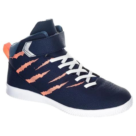 tarmak se girls basketball shoes  beginners navy