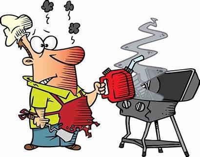 Grill Cartoon Barbeque Dad Clipart Barbecue Clip