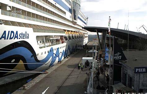 webcam warnemuende cruise terminal warnemuende