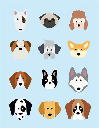 Dog Icon Breed Illustration Icons Cartoon Student