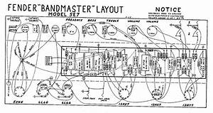 Fender Bandmaster 5e7 Layout And Wiring Diagram