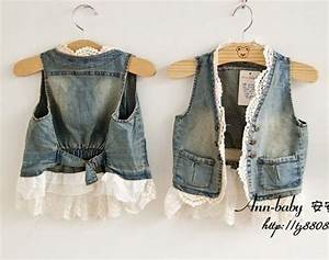 Dhl Liefertag ändern : wholesale ems dhl free shipping little girl fashion wash denim lace vest outwear waistcoat ~ A.2002-acura-tl-radio.info Haus und Dekorationen