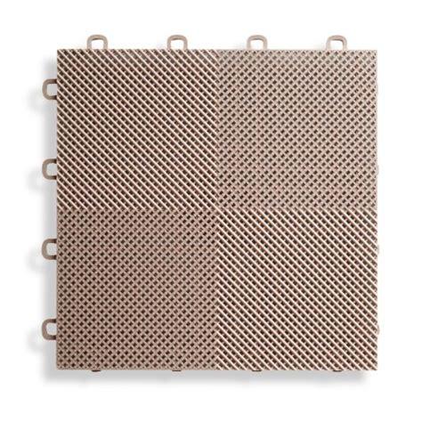blocktile b2us5130 deck and patio flooring interlocking tiles perforated pack beige 30 pack