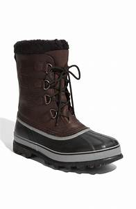 Sorel Caribou Wool Lined Waterproof Boot in Black for Men ...