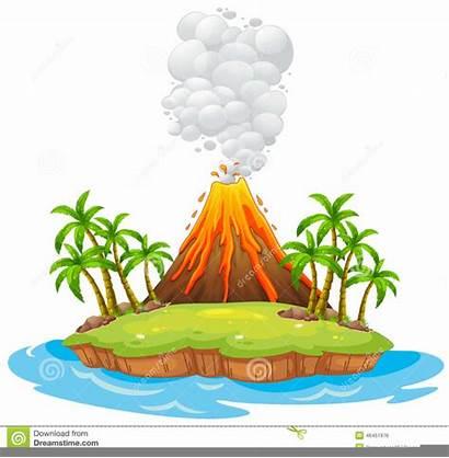 Clipart Volcano Mayon Clip Clker Vector