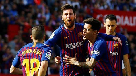 Sevilla 2 - Barcelona 4: resumen, resultado y goles ...