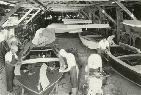 Is Chris Craft Boats Still In Business by Correct Craft Boat Factory 1950 S Orlando Memory