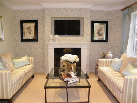 Rugs At Laura Ashley by Feature Wall Living Room Design Ideas Photos