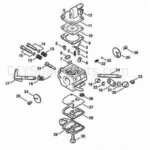 Stihl Fs 250 Brushcutter  Fs250r  Parts Diagram