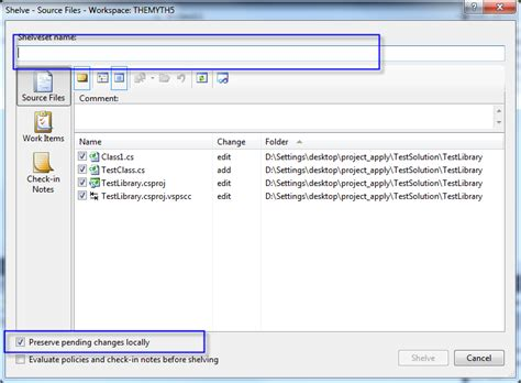 35. Tfs 소스 코드 관리 기능 (2)