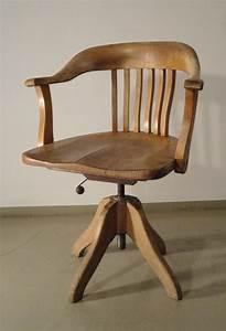 Chaise De Bureau En Bois : indus ~ Mglfilm.com Idées de Décoration