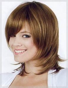 Schöne Frisuren Mit Pony Sch Ne Schulterlange Schwarz Haare