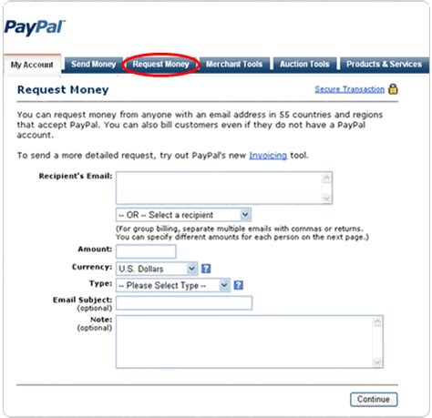 paypal request money  invoice xtremegraphicdesignscom