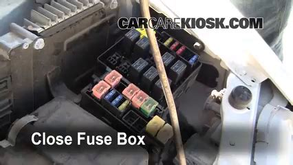 2000 Eclipse Fuse Box Relay N by Replace A Fuse 1995 1999 Mitsubishi Eclipse 1996