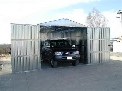 box auto in lamiera zincata box auto prefabbricato in lamiera zincata componibile a