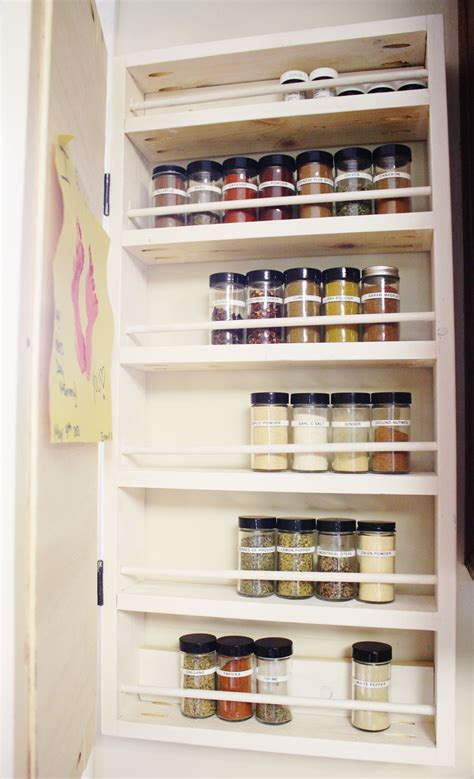 How To Make A Spice Rack Out Of Wood by How To Build A Diy Spice Rack