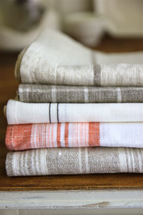 Kitchen Towels by Steffens Hobick Painted Linen Kitchen Towels