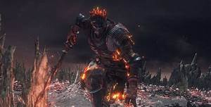 Dark Souls 3 U0026 39 S Final Boss The Soul Of Cinder Beaten Using