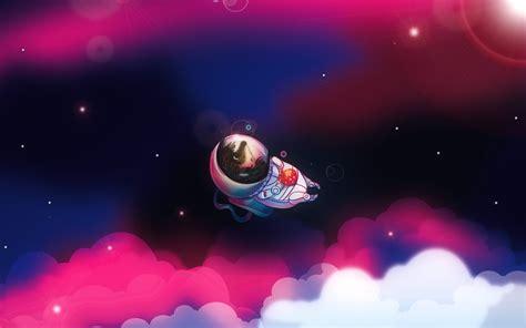 erizo astronauta wallpapers
