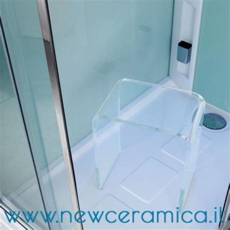 sgabello trasparente sgabello per docce ad u in plexiglass trasparente