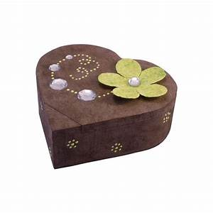 Boite A Bijoux En Bois : boite a bijoux decoree ~ Teatrodelosmanantiales.com Idées de Décoration