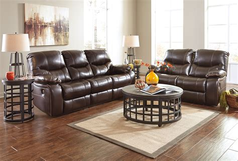 Buy Ashley Furniture Pranas Brindle Reclining Living Room