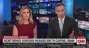 'Potential explosive devices' sent to Obama, Clinton, CNN
