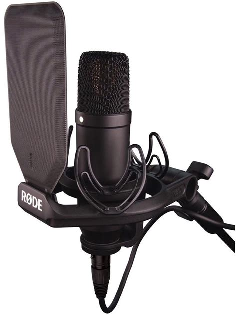 rode microphone rode nt1 fixed cardioid condenser microphone with rode