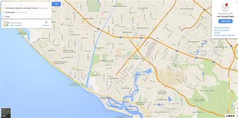A Stroll Through The New Google Maps Interface