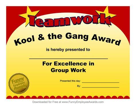 25 best funny employee awards images on pinterest