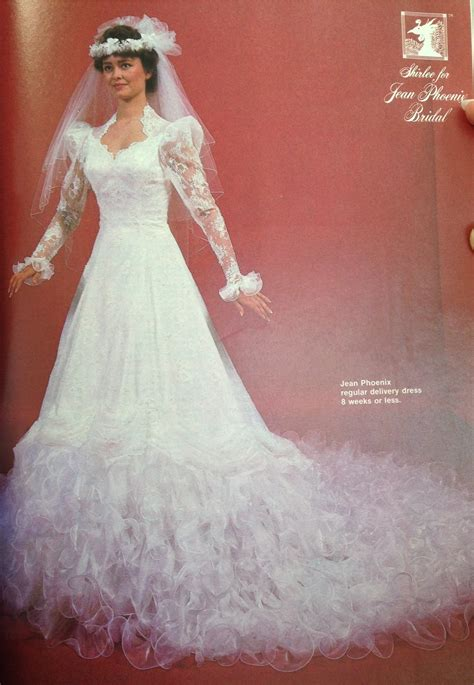 80s Fashion Exclusive! The 11 Worst Wedding Gowns