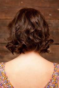Wavy Bob Hairstyle Back View