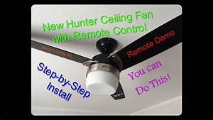 Hunter Fairhaven Ceiling Fan Manual