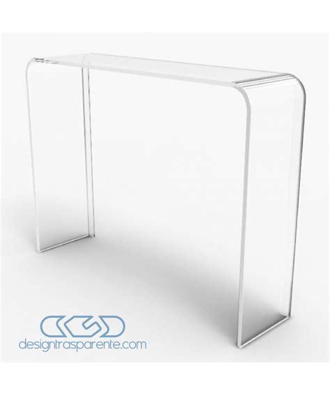 Scrivania Consolle by Consolle Scrivania 100x20h90 In Plexiglass Trasparente