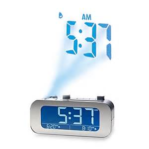 Ceiling Alarm Clock Projection by Buy Brookstone 174 Timesmart 174 Self Setting Projection Clock
