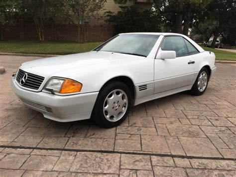 car manuals free online 1993 mercedes benz 300sl parking system no reserve 1993 mercedes benz 300sl for sale on bat auctions sold for 7 000 on november 29