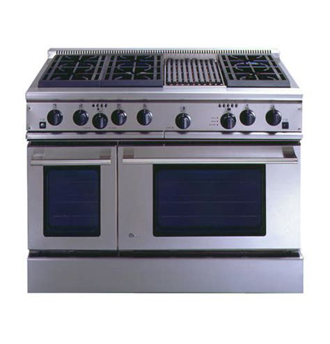 zdpnrwss ge monogram  professional range   burners  grill natural gas