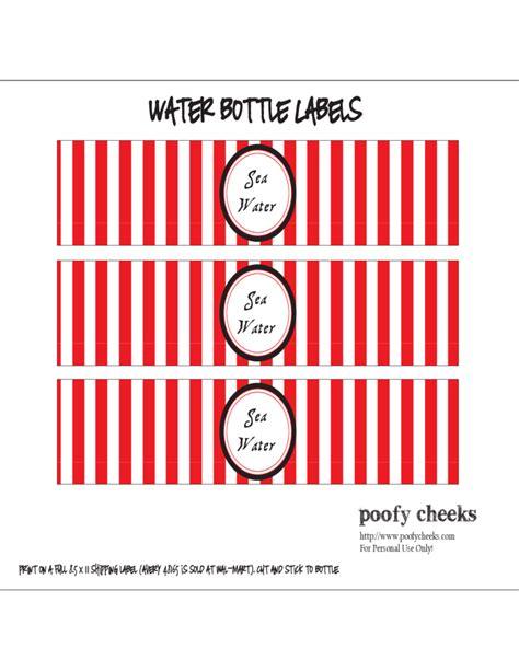 Water Bottle Labels Template Avery by Sle Water Bottle Label Free