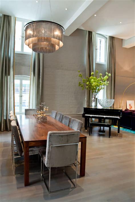 Tribeca Loft  Modern  Dining Room  New York  By David