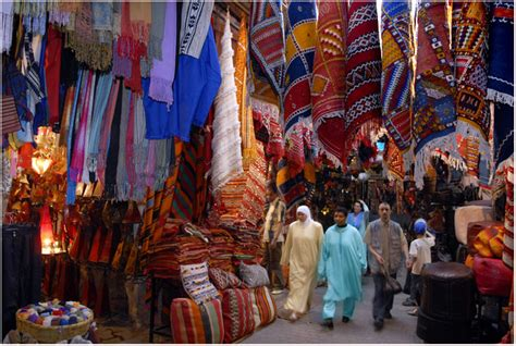 Carpet Souks Of Marrakech, A Photo From Marrakech, South
