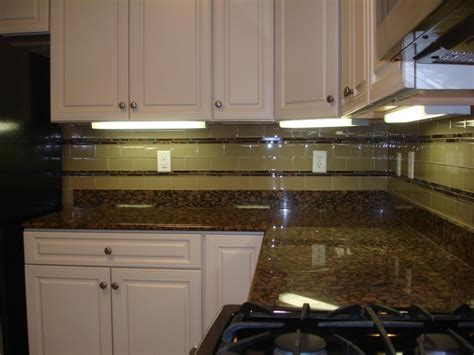 tile borders for kitchen backsplash glass 3x6 kitchen tile backsplash with two granite and 8472