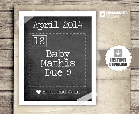 free pregnancy announcement templates free printable pregnancy calendar 187 calendar template 2018